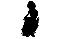 Transparent Sonic X Rouge Silhouette