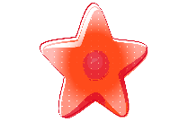Red Star Vector Clipart PNG Image
