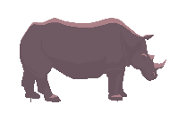 Rhino Transparent Png Vector