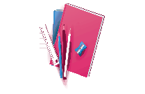 School Stationery Items PNG Clipart