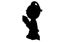 Avatar Girl Png Silhouette Transparent Background