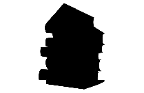 Stack Of Books Png Black And White