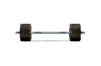 Strength Training Bar PNG Vector Image