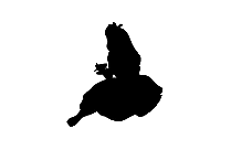 Girl Cupid Png Silhouette Transparent Background