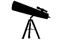 Transparent Astronomical Telescope Silhouette Png