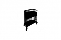 Transparent Baby Crib Clipart, Baby Crib Png Image