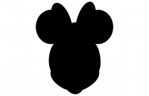 Minnie Mouse Baby Art Hd Png Download