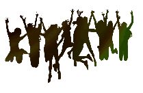 Transparent Background People Jumping Png