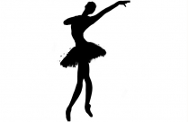 Dance Academy Png Black And White