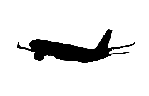 Transparent Boeing Aeroplane Png Clip Art