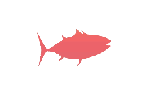 Transparent Bonito Fish Silhouette Png