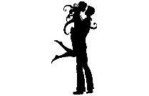 Transparent Dancing Couple Hd Wallpaper