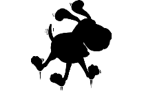Pepe Le Pew Png Silhouette