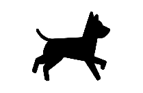 Black Chasing Scooby Doo Png Transparent Background