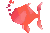 Black Funny Fish Png Transparent Background