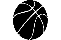 Transparent Basketball Player Silhouette Png