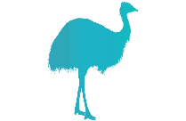 Transparent Forgetmenot Ostrich Clipart Png