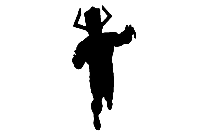 Transparent Galactus Character Silhouette Png