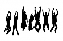 Transparent Happy People Jumping Png