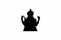 Lord Ganpati Clipart Png Black And White