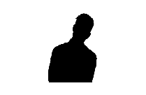 Black Thinking People Clipart Transparent Background