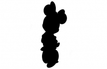 Mickey Minnie Mouse Selfie Png Background