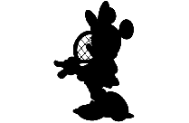 Colorful Minnie Mouse Png Clipart