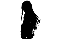 Anime Girl With Long Hair Png Image For Download