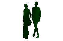 Transparent People Walking Clipart