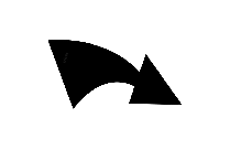 Transparent Right Curved Arrow Clipart, Right Curved Arrow Png Image