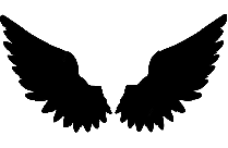 Transparent Snow Angel Wings Png Cartoon