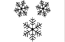 Transparent Snowflake Clipart