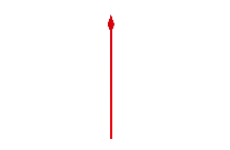 Transparent Thick Arrow Pointing Down Clip Art