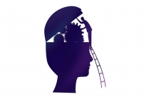 Transparent Thinking Manager Silhouette
