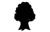 Transparent Tree Silhouette Png