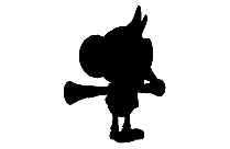 Transparent Wii Super Monkey Silhouette Png