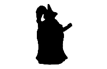 Transparent Witch With Broomstick Hat Clipart, Witch With Broomstick Hat Png Image