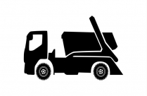 Truck Clipart Png Black And White
