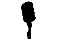 Vintage Microphone Png Free Clipart
