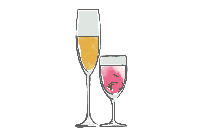 Wine Glass Clipart Transparent Background