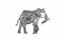 Zentangle Elephant Png Image For Download
