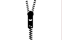 Zipper Clipart Png Black And White