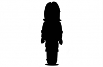 Zoologist Silhouette Transparent Background