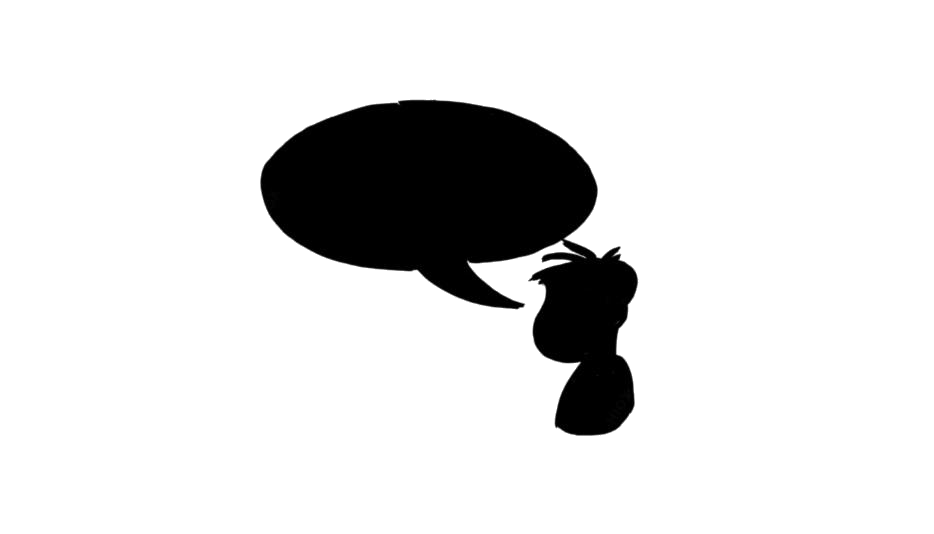 Thinking Cartoon PNG Transparent Images