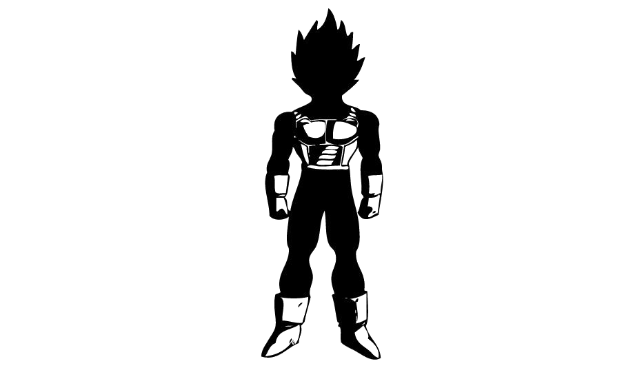 Transparent Dragon Ball Tattoo Silhouette Png