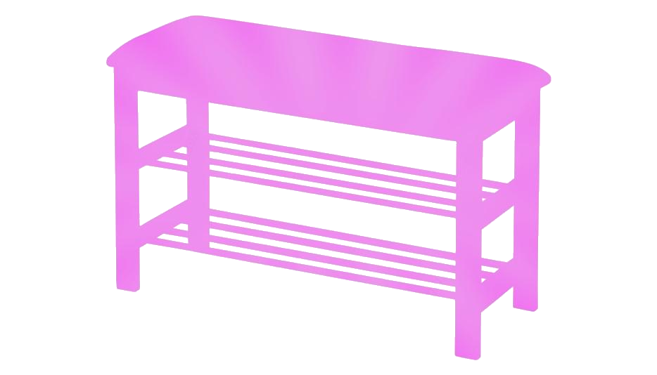 Transparent Entryway Table Drawing