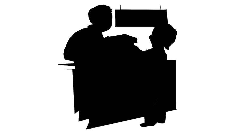 Transparent Librarian Silhouette Png