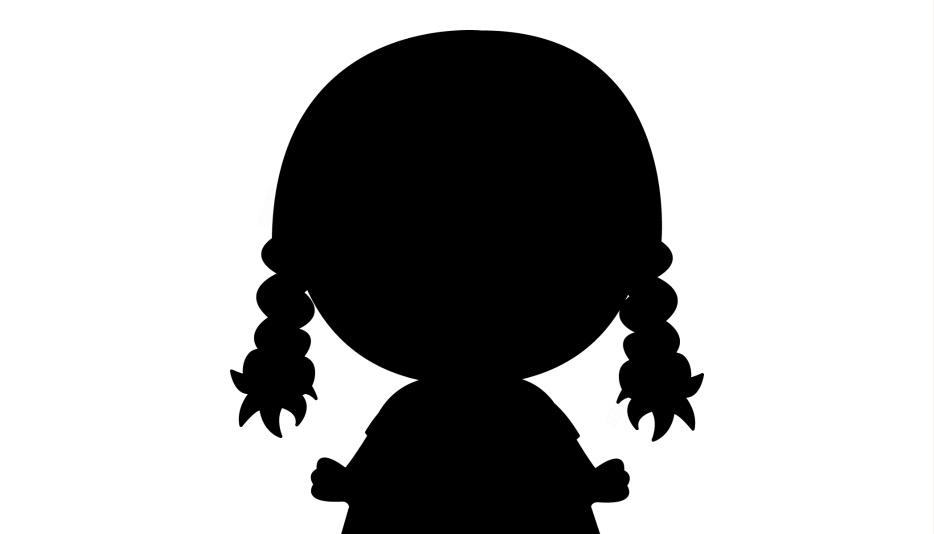 Transparent Little Girl Head Clipart, Little Girl Head Png Image