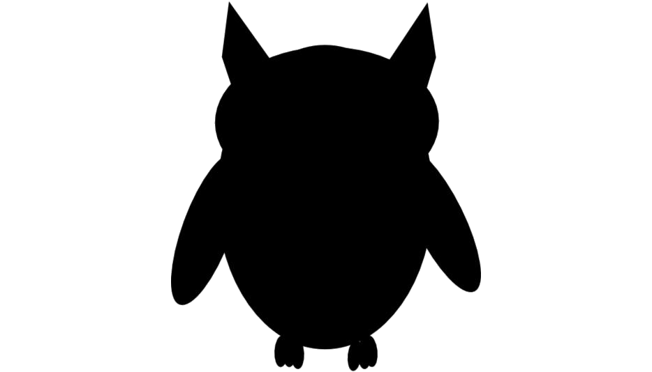 Transparent Owl Silhouette, Owl Png Image
