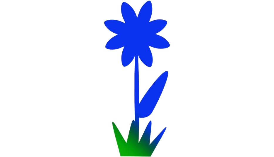 Transparent Single Flower Silhouette Png